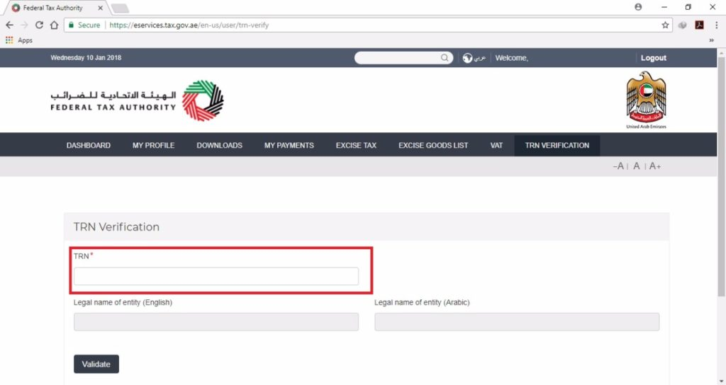 How To Verify Fake TRN Number