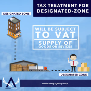 Company in the designated zone makes supplies into the designated zone to a consumer. The company charges VAT