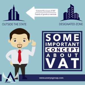 Company in the designated zone made supplies to company or Individual outside the state. No VAT shall be charged